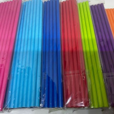 25 cake pops straws
