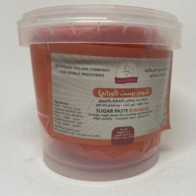 orange sugar paste 450grm