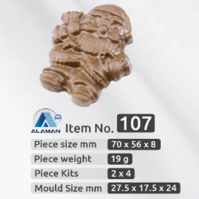 chocolate mold model 107