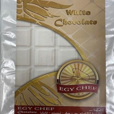 chocolate egy chef white 2.5 kilo