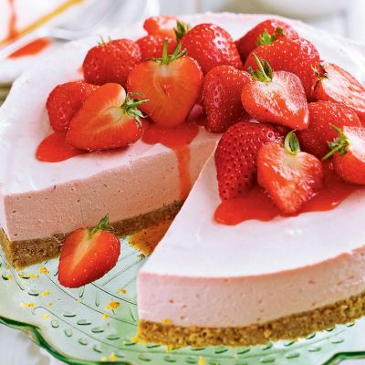mousse strawberry mix 250gm
