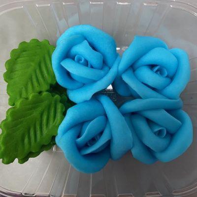 blue sky flower 4 pic